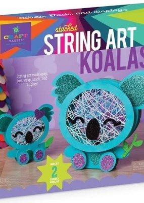 Ann Williams Craft-tastic Stacked String Art Koalas