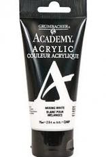 Grumbacher Academy Acrylics 75ml Tube Titanium White