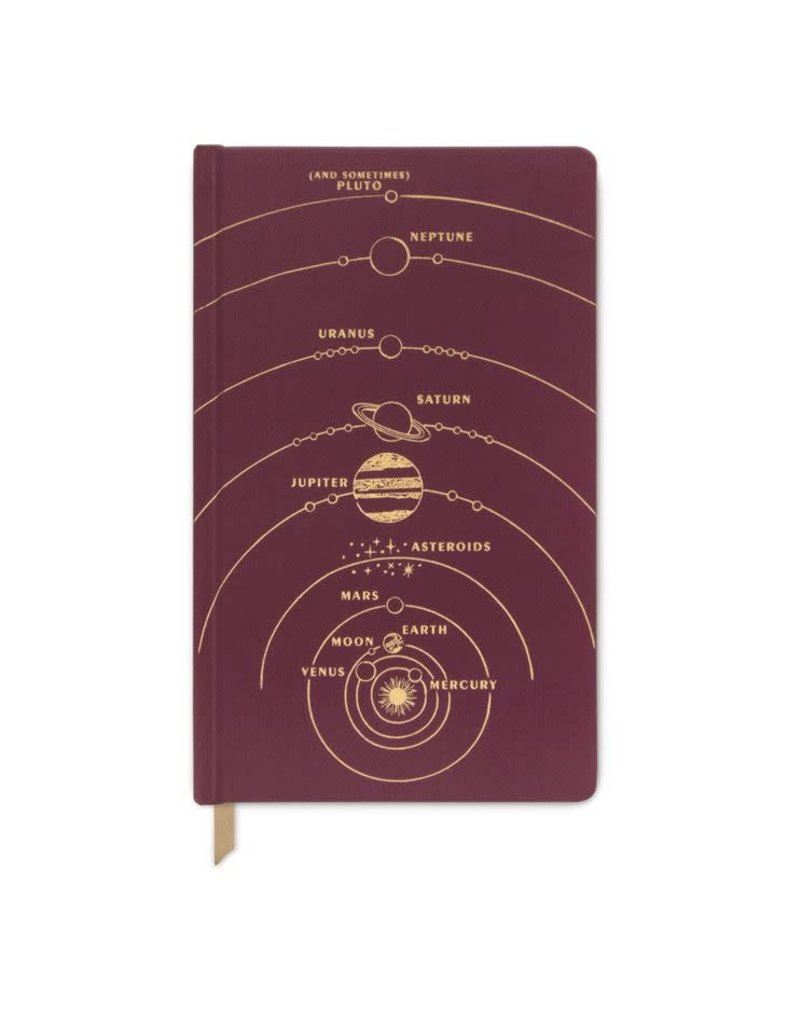 Designworks Ink Journal Solar System Lined