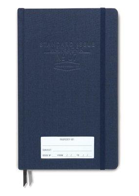 Designworks Ink Standard Issue Notebook - Blue Bookcloth Dot Grid
