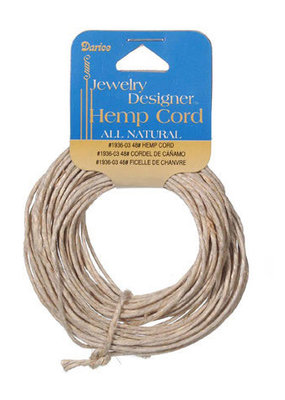Darice Hemp Cord Natural 48 Pound 10 Yards