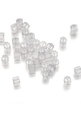 Darice French Earwire Keepers Clear 36 Pieces