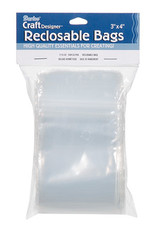 Darice Bags Clear Plastic Reclosable 3 x 4 Inch 100 Pieces