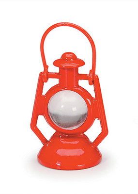 Timeless Minis Mini Red Metal Lantern