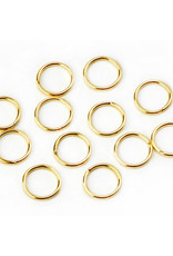 Darice Jump Ring Gold 10mm 12 Pieces