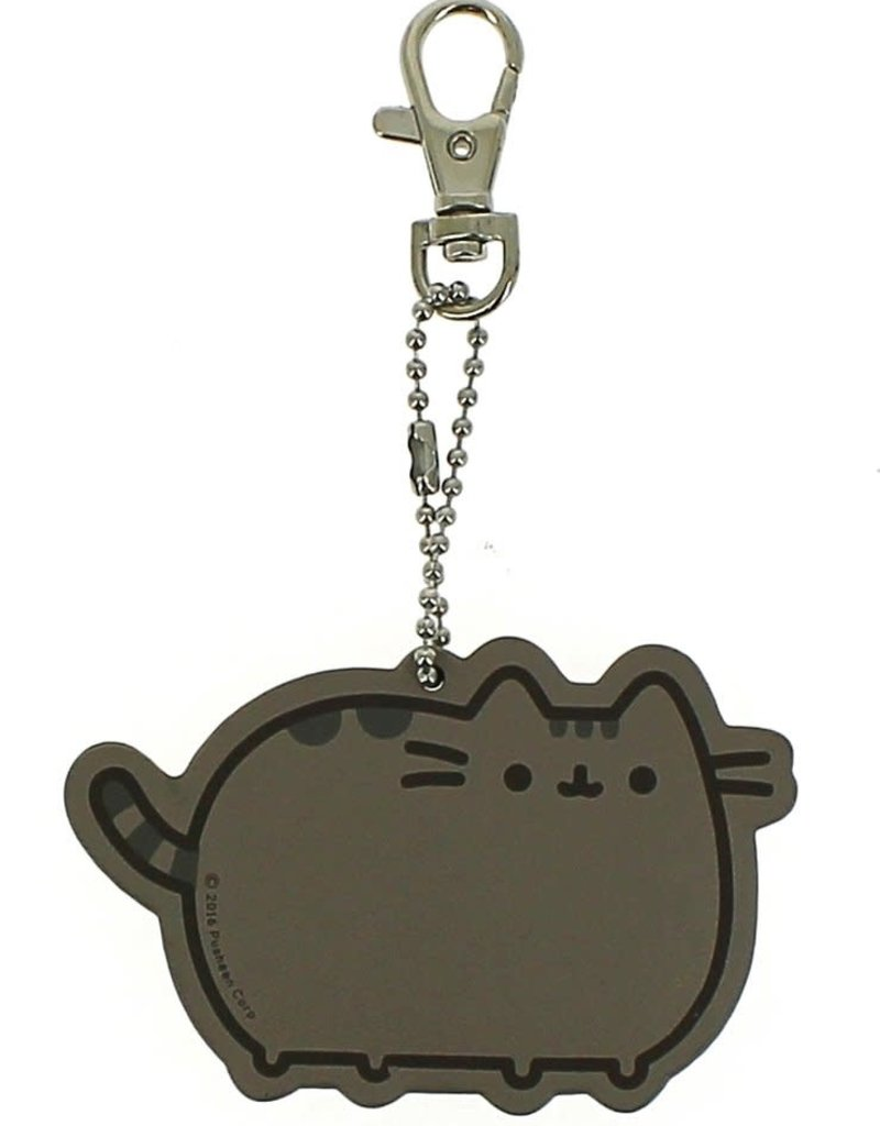 Sterling Keyring Pusheen