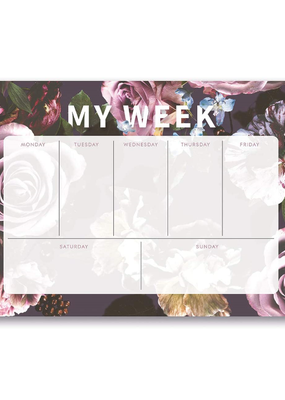Studio Oh! Weekly Desk Pads Floral Expressions
