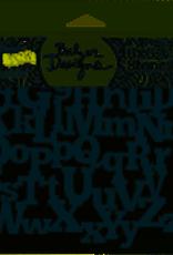 The Crafter's Workshop 6 x 6 Stencil Alphabetica
