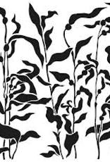The Crafter's Workshop 6 x 6 Stencil Kelp Forest