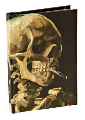 Teneues Notebook Mini Skeleton With a Cigarette