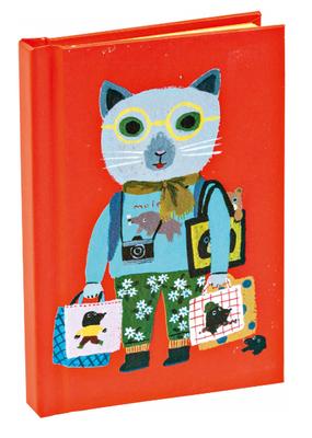 Teneues Notebook Mini Cat Tourist