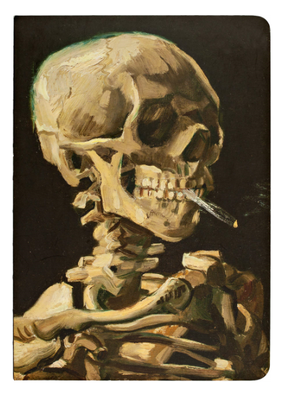 Teneues Notebook A5 Skeleton With a Cigarette