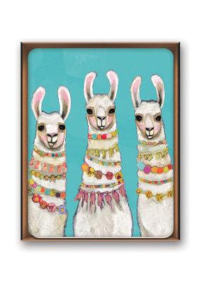 Studio Oh! Notecards Boho Llamas