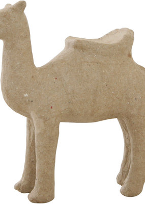 Papier Mache Paper Mache Camel with Saddle 5 Inch