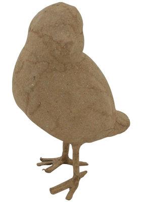 Papier Mache Paper Mache Bird Style # 4  3 x 4 Inch