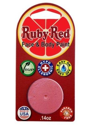 Ruby Red Ruby Red Face Paint Single Pastel Pink