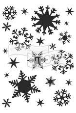 The Crafter's Workshop 5.25 X 7.25 Stencil Flakes
