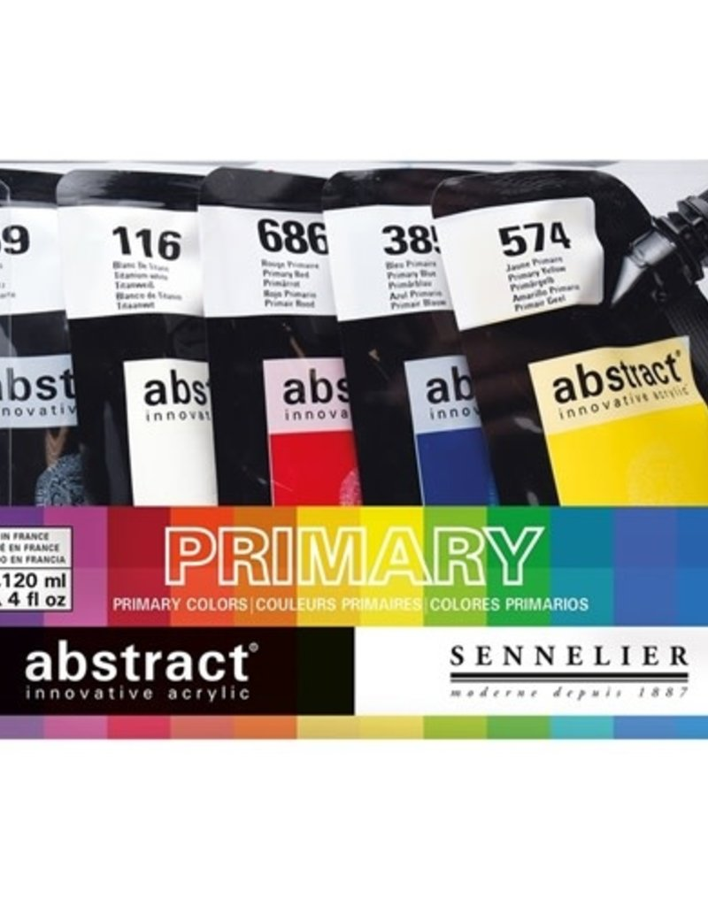 Sennelier Abstract Acrylic Set of 5