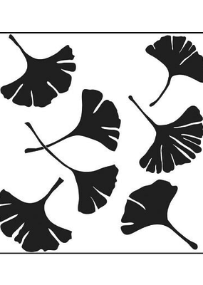 The Crafter's Workshop 6 x 6 Stencil Ginkgo Leaves