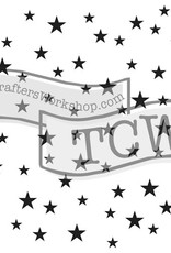 The Crafter's Workshop 6 x 6 Stencil Random Stars