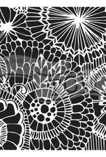 The Crafter's Workshop 6 x 6 Stencil Botanical Dream