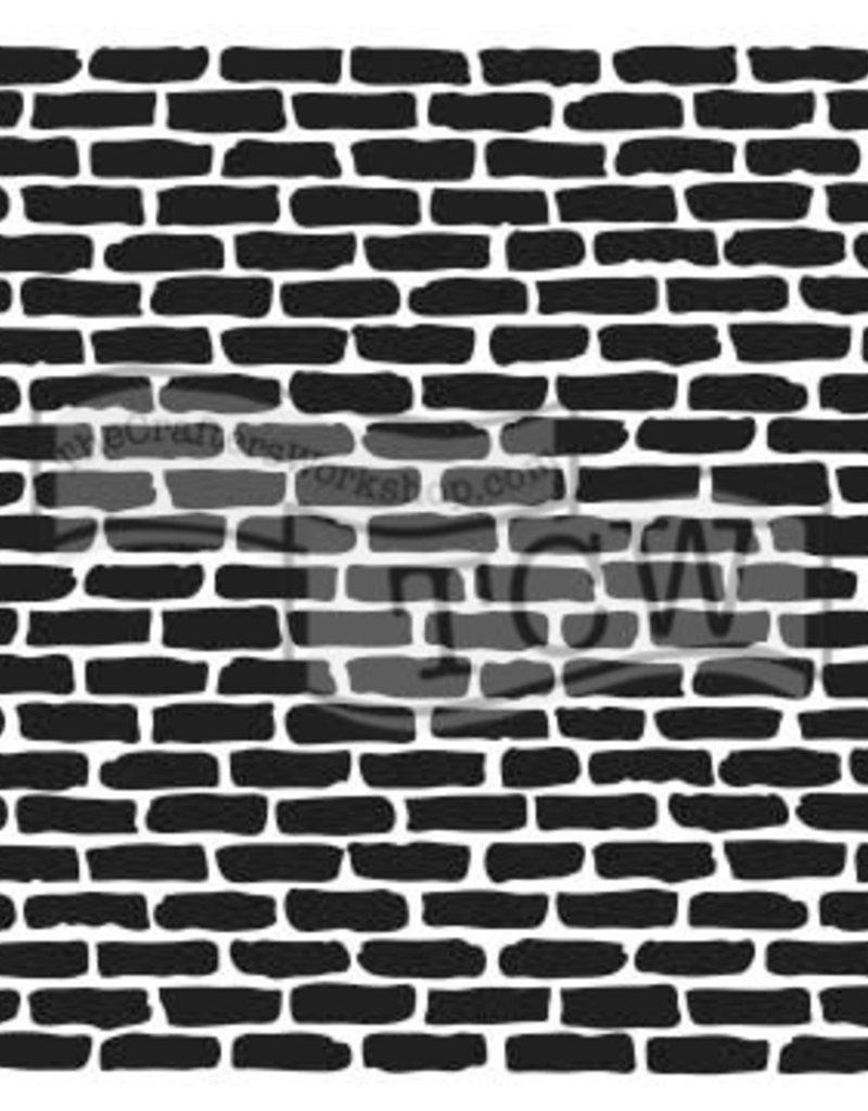 The Crafter's Workshop 6 x 6 Stencil Micro Bricks