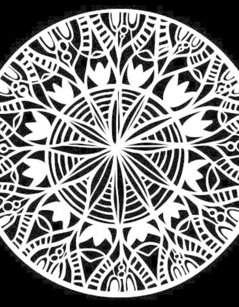 The Crafter's Workshop 6 x 6 Stencil Spring Medallion