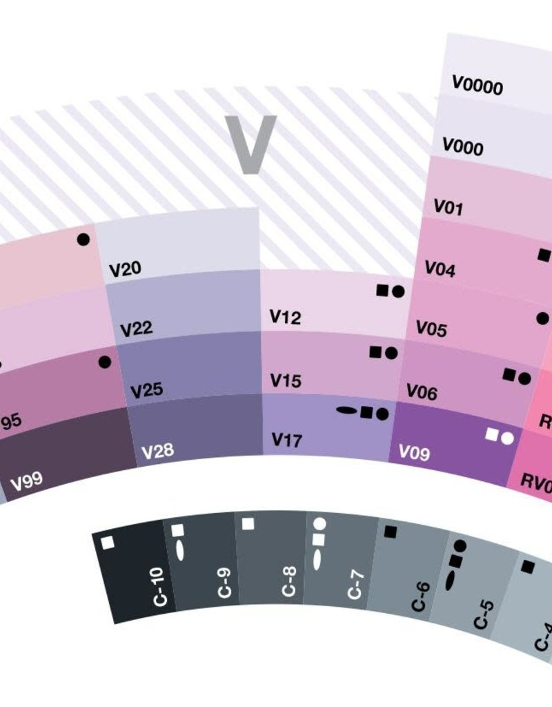 Copic Copic Classic Violets