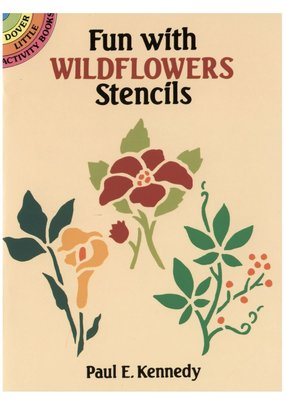 Dover Fun with Wildflowers Stencils