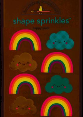 Doodlebug Design Inc. Shape Sprinkles Happy Skies