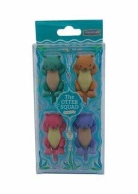Streamline Eraser Set Otter