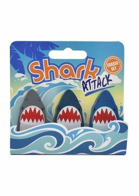 Streamline Eraser Set Shark