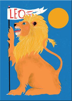 Lisa Congdon Magnet Leo