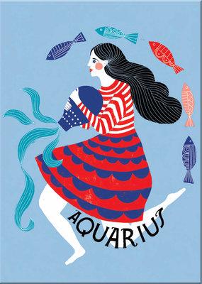 Lisa Congdon Magnet Aquarius