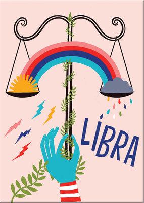 Lisa Congdon Magnet Libra