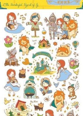 Sticker Wizard of Oz