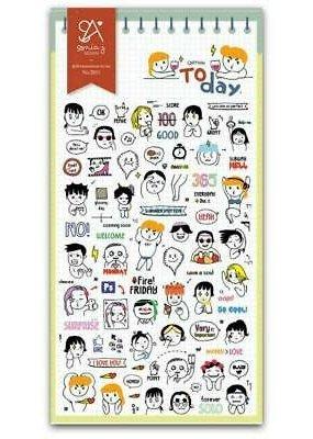 Sticker Cartoon Today