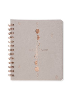 Fringe Undated Daily Planner Moon Phases