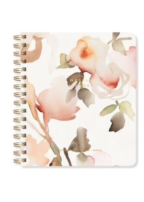 Fringe Undated Weekly Planner Watercolor Floral