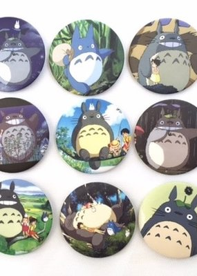 Totoro Button
