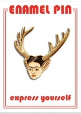 The Found Enamel  Pin Frida Deer Head