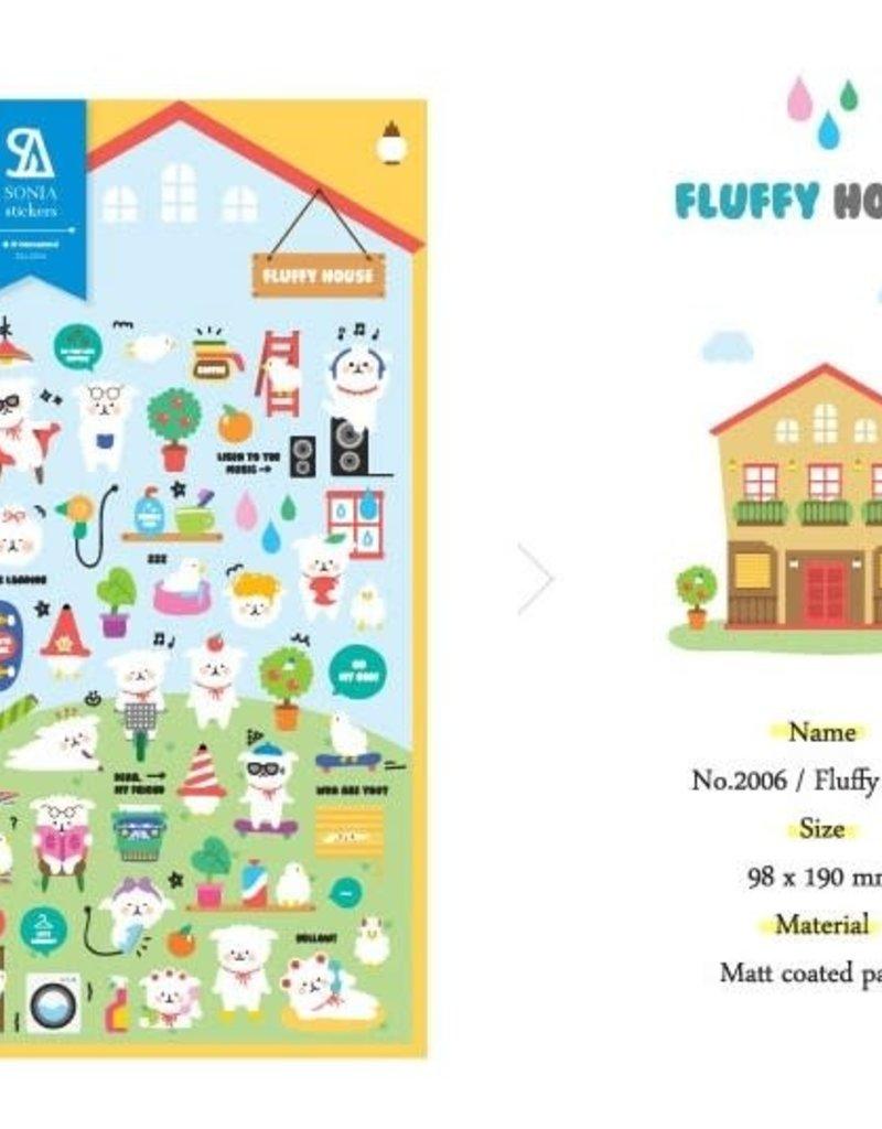 Sticker Fluffy House