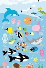 Stickers Puffy Sea Animals