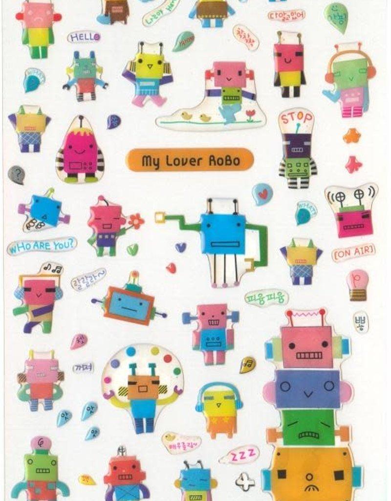 Stickers My Lover Robo Gel