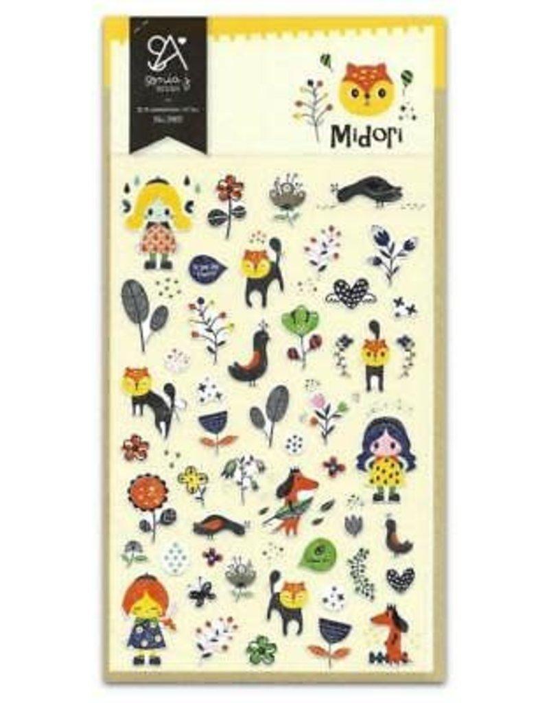 Stickers Midori