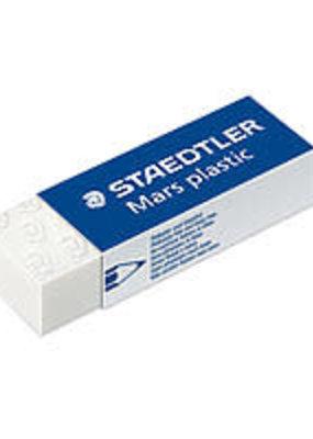 Staedtler Eraser Soft White Vinyl