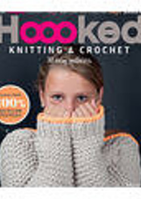 Hoooked Hoooked Knitting and Crochet Patterns