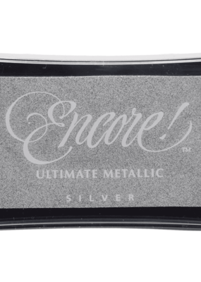 Encore! Encore! Ultimate Metallic Ink Pad Silver