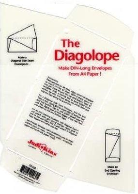 Judikins Envelope Template Diagalope