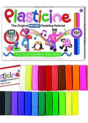 Kahootz Plasticine Clay 24 Color Rainbow Play Pack